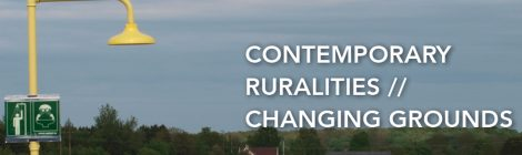 contemporary ruralities // changing grounds Copenhagen 2020-Jan-24-25